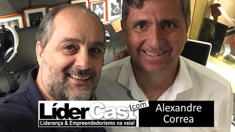 Confira o bate-papo entre Luciano Pires e Alexandre Correa Lima