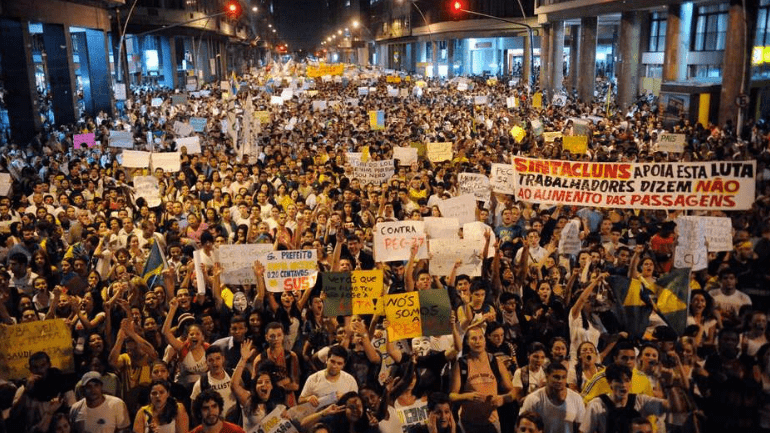 Eleição de 2018 é filha dos protestos de 2013