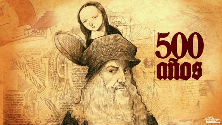 Leonardo Da Vinci - 500 anos